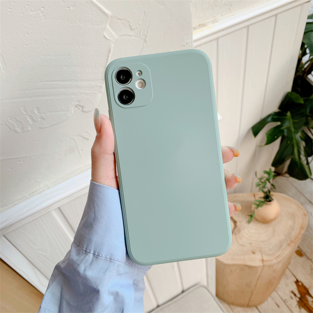 With LOGO Official Original Liquid Case For iphone 11 12 Pro Max SE 2020 Silicone For iPhone XR XS MAX X 8 7 Plus covers Cases