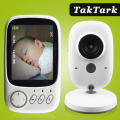 3.2 inch Wireless Video Color Baby Monitor High Resolution Baby Nanny Security Camera  Night Vision Temperature Monitoring preview-1