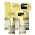 30Pcs White Gold