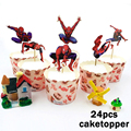 24 pc Cake Toppers