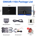 ONKAR Car Center Screen 11.6 Inch Android 10 Headrest Monitor 4K Screen Video HDMI IN/ Out Screen Mirror FM Bluetooth SD USB preview-5