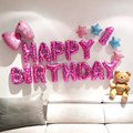 Happy Birthday Balloons Set for Kids Girl Boy Wife Women Balloon Home Decorations Party Supplies Baby Shower preview-3