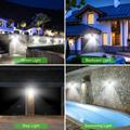 228 144 LED Solar Light Outdoor Solar Lamp PIR Motion Sensor Light Waterproof Solar Powered Sunlight for Garden Decoration preview-6