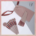 13pcs Professional Makeup Brush Set Soft Fur Beauty Highlighter Powder Foundation Concealer Multifunctional Cosmetic Tool Makeup preview-5
