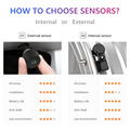 Jansite USB Android TPMS Car Tire Pressure Alarm Monitor System For vehicle Android player Temperature Warning with four sensors preview-4