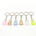 Flatback Resin Pendant Phone Charms Handbag Keyring Resin Cabochons Bear Keychain For Freinds Childrens Bag Pendant Jewelry preview-3