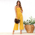 Women Summer Sexy Sleeveless Rompers 2021 Casual Loose Party Backless Office Overalls 5XL Jumpsuits dresses women lady elegant preview-2