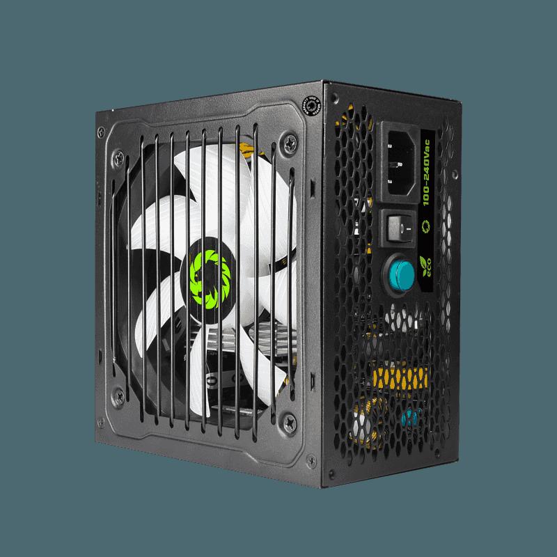 GameMAX Power Supply RGB PSU True Rated 800W Semi Modular 80 Plus Bronze RGB ATX PC Case Power Supply for Computer VP-800-M-RGB preview-3
