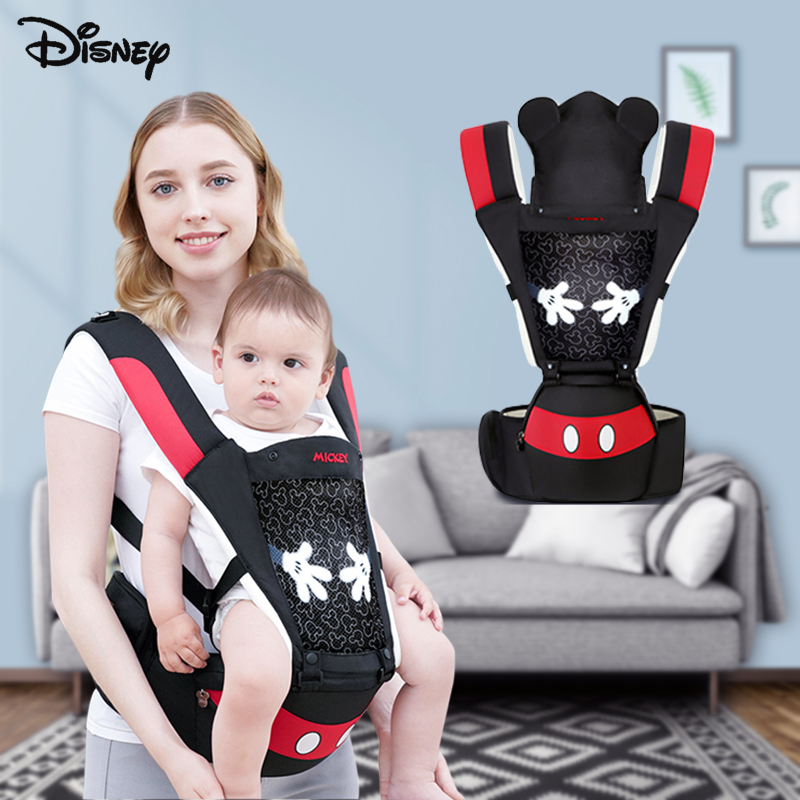Disney Ergonomic Baby Carrier Wrap New 0-48 Month Baby Sling Front Facing Baby Hip Seat For Travel Carrier Kangaroo For Infant