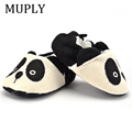 Adorable Infant Slippers Toddler Baby Boy Girl Knit Crib Shoes Cute Cartoon Anti-slip Prewalker Baby Slippers preview-6