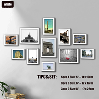 11pcs White