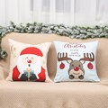 Merry Christmas Cushion Cover Santa Claus Elk Christmas Decoration For Home 2021 Christmas Ornaments Natal Navidad New Year 2022 preview-5