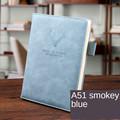 Smoke gray blue