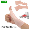 Tcare Silicone Gel Therapy Wrist Thumb Support Gloves Arthritis Pressure Corrector Glove Carpal Tendonitis Protection Gloves New preview-1
