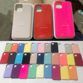Official Original Silicone Case for Apple iPhone 13 12 Pro Max XS XR 7 8 6S Plus 11 Mini iPhone12 Brand Logo Phone Cover Funda preview-1
