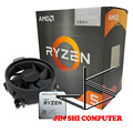 AMD Ryzen 5 5600G R5 5600G 3.9GHz Six-Core Twelve-Thread 65W CPU Processor L3=16M 100-000000252 Socket AM4 New and have fan preview-1