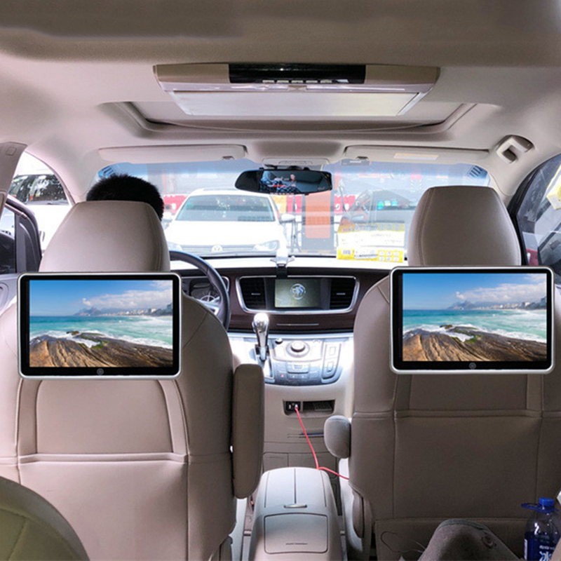 """10.1"""" Car Headrest Monitor Auto Multimedia Audio Video Player Support 1080P HD LCD Touch Screen with Speaker Bluetooth MP4 MP5"""
