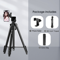 tripod with holder