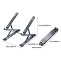 NEW MC N8 Adjustable Laptop Stand Aluminum for Macbook Tablet Notebook Stand Table Cooling Pad Foldable Laptop Holder preview-5