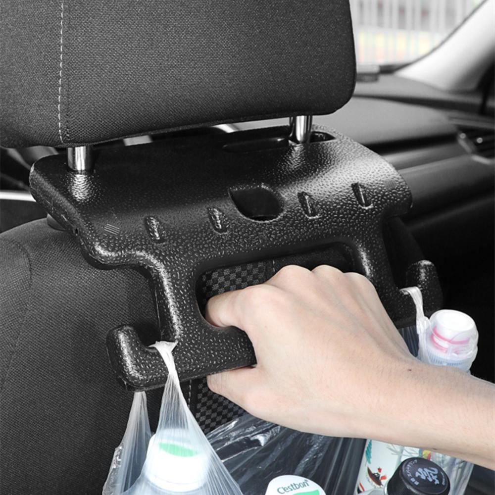 Car Seat Back Hook Auto Headrest Organizer with Hanger Armrest Car Backseat Holder Auto Safe Handrail Car Accessories Interior