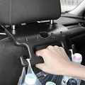 Car Seat Back Hook Auto Headrest Organizer with Hanger Armrest Car Backseat Holder Auto Safe Handrail Car Accessories Interior preview-1