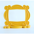 TV Series Friends Handmade Monica Door Frame Wood Yellow Mon  Photo Frames Collectible Home Decor Collection Gift preview-3