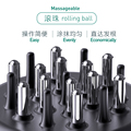 Zhangguang 101 Mini Diversion Portable Rolling Ball Hair Comb 30ml Volume Massager preview-2