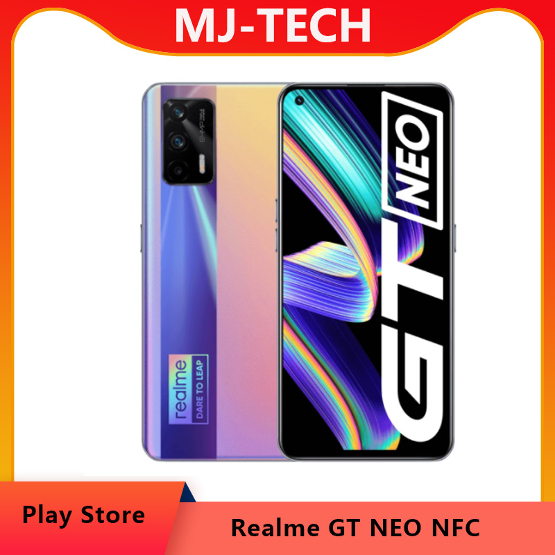 """realme GT Neo Flash version  5G Mobile Phone Dimensity 1200 Octa Core 6.43""""120Hz Super AMOLED 50W Fast Charge 64MP WIFI6 NFC"""