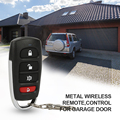 New 433mhz Universal Car Remote Control Key Smart Electric Garage Door Replacement Cloning Cloner Copy Remote preview-1