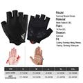 NEWBOLER Shockproof GEL Pad Cycling Gloves Half Finger Sport Gloves Men Women Summer Bicycle Gym Fitness Gloves MTB Bike Gloves preview-6