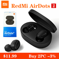 Xiaomi Redmi Airdots S Bluetooth Earphones TWS Wireless Bluetooth Earphone AI Control Gaming Headset With Mic Noise Reduction preview-1