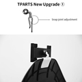 TPARTS For Tesla Model 3/Y Car Back Seat IPAD Mobile Phone Holder Mount Accessories Parts preview-2
