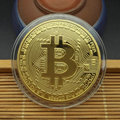 1PCS Creative Souvenir Gold Plated Bitcoin Coin Collectible Great Gift Bit Coin Art Collection Physical Gold Commemorative Coin preview-6