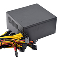ATX 2000w Suitable for all kinds of mining Power Supply  8GPU ETH Rig Ethereum Miner PC psu temperature control Mute 180-260v preview-4