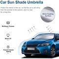 Upgrade Foldable Car Sunshade Windshield Umbrella For Tesla Model 3 Model Y Model S Model X Front Window Sun Shade Screen preview-3