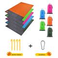 2x2.1m Waterproof Pocket Beach Blanket Folding Camping Mat Mattress Portable Lightweight Mat Outdoor Picnic Mat Sand Beach Mat preview-6