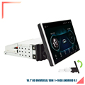 """1DIN Adjustable Universal 10.1"""" Car Stereo Radio 1GBRam 16GBRom 1080p Touch Screen Gas Wifi preview-1"""
