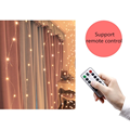 Christmas Decorations for Home 3m Curtain String Light Flash Fairy Garland Home Decor Navidad 2021 Xmas Decoration New Year 2022 preview-5