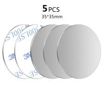 5Pcs Silver 35x35