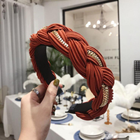 coral red  hairband
