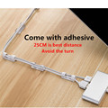 Cable Organizer Clips Cable Management Desktop & Workstation ABS Wire Manager Cord Holder USB Charging Data Line Bobbin Winder preview-4