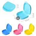 Orthodontic Braces Silicone Mouth Guard Braces Tooth Tray Storage Boxes Braces Instanted Teeth Alignment Trainer Teeth Retainer preview-1