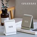 2021 2022 Simple Black White Grey Series Desktop Calendar Dual Daily Schedule Table Planner Yearly Agenda Organizer Office preview-2