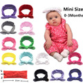 Newborn Baby Pure Color Headband Elastic Bunny Ears Headband Little Girl Headband Elastic Headband Baby Hair Accessories preview-1