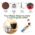 ICafilas Stainless Steel Reusable Capsules For coffee Maker  for Nespresso Machine Coffee Espresso For Coffee Maker preview-2