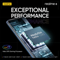 realme 8 Russian Global Version 6GB 128GB 30W SuperDart Charge Helio G95 AMOLED Display 64MP Camera 5000mAh Battery NFC Phone preview-6