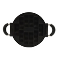 7-Hole Cake Cooking Pan Cast Iron Omelette Pan Non-Stick Cooking Pot Breakfast Egg Cooking Pie Cake Mold Kitchen Cookware Tool preview-3