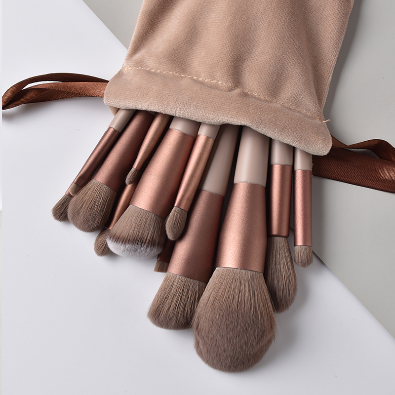 13/9 Pcs Makeup Brushes Professional Eyeshadow Brush Eyeliner Eyelash Lip Make Up Brush With Gift Bag Makeup Tool Maquiagem
