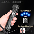 ZHIYU Adjustable Flashlight Strong Light Rechargeable LED Torch 18650 or 26650 Battery Zoom 5 Modes Outdoor Camping Emergency preview-4