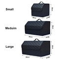 Multipurpose Collapsible Car Trunk Storage Organizer With Lid Portable Car Storage Bag Car Trunk Organizer preview-3